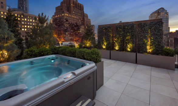 Roof Terrace Tribeca Triplex